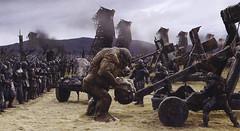 Troll en sitio de Minas Tirith