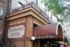NYC - East Village: St. Marks Hotel by wallyg, on Flickr