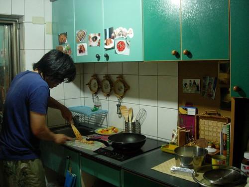 Monsieur LIN 做飯中