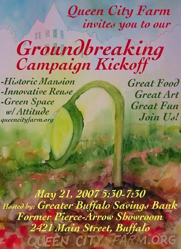 QCF Groundbreaking Poster