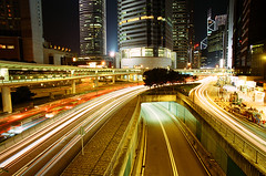 Hong Kong Live! (*mike7.net) Tags: city longexposure light hk film night hongkong md super line kong busy 200 konica centuria 19mm f38 spectnight minoltax500 abigfave wwrhong