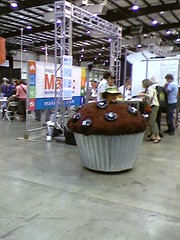 Roving Cupcake [Maker Faire]