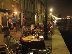 Dinner at Giudecca