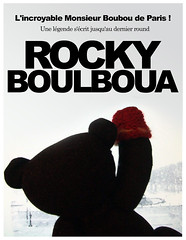 Rocky Boulboua is back ! (L'incroyable Monsieur Boubou de Paris !) Tags: paris rocky teddybear ourson rockybalboa boubou oursenpeluche httpwwwflickrcomgroupsmyteddybear rockyboulboua