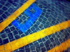 Number 9 (ale2000) Tags: blur lines yellow mobile digital writing nokia blurry pavement nine 9 number giallo sanpietrini numero nove mrbeatles n73