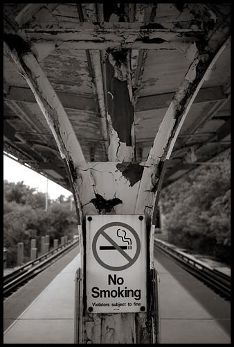 Foster Ave. platform