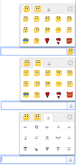 Google Talk Smileys
