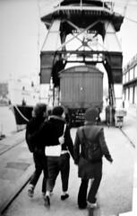 Crane (Jigsaw James) Tags: bristol blackwhite harbourside