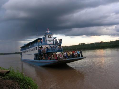 Barco de Iquitos a Yurimaguas por jorge.delprado.