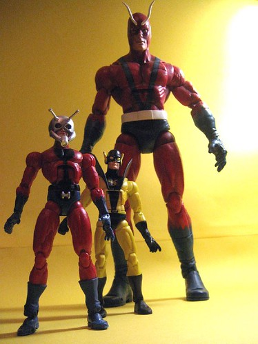 Hank Pym: Antman, Yellowjacket and Giantman