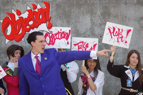 Fanimecon: Phoenix Wright Ace Attorney