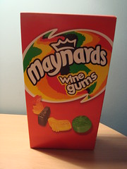 Wine Gums (Chrbul) Tags: food wine desk gums sweets maynards 600g