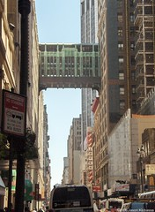 Manhattan Mall Skybridge; New York City by j klo, on Flickr