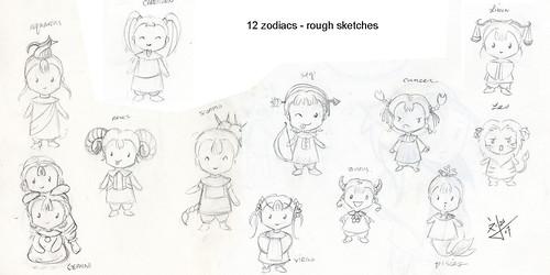 zodiac chibis