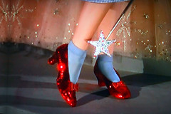 Ruby Slippers TV Shot (Walker Dukes) Tags: color film beauty television canon tv screenshot glamour hollywood actress movies filmstill filmstills actor adrian wizardofoz mgm diva tcm redshoes 1939 moviestills rubyslippers moviestill thewizardofoz judygarland tvshot turnerclassicmovies moviestars tvshots colorfilm billieburke oldmovies margarethamilton picturesofthetelevision xti bertlahr jackhaleyjr canonxti televisionshot raybolger flickrglam colormovies colorfilms therubyslippers