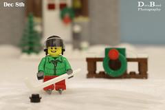 Dec 8th 2016 (Dave Bond Photography) Tags: lego christmas calendar city advent hockey snow minifig