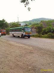 Kolhapur-Swargate (Vina Vahak Vina Thamba). (kunaltendulkar96) Tags: msrtc newhirkani kolhapur