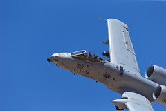 """Fairchild Republic A-10C Thunderbolt II of the Michigan ANG's 107 FS """"Red Devils"""" from Selfridge ANG Base (Norman Graf) Tags: red devils 107fs 107thfightersquadron 127wg 127thwing 800184 a10 a10c ang airnationalguard aircraft airplane cas closeairsupport davismonthanafb fairchildrepublic hawgsmoke2016 jet mi miang michiganairnationalguard militaryexercise plane selfridgeairnationalguardbase thunderboltii usaf unitedstatesairforce warthog reddevils"""