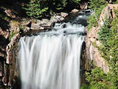 Undine Falls - Yellowstone (AR Nature Gal) Tags: trees mountain water waterfall yellowstone cascade undinefalls
