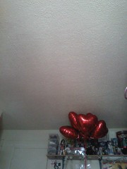 ______ (Mindsay Mohan) Tags: red balloons shoes heart shaped room barbie valentine ceiling valentinesday heartshaped