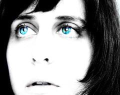 ICE... Trasparenze (helenarosado) Tags: life blue woman white selfportrait me girl face donna gente expression no si io bianca tu dedica bacio vita ragazza dedicatoate