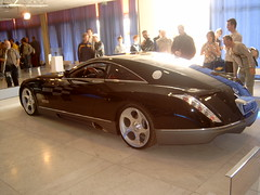 Maybach Exelero concept car (Davydutchy) Tags: exhibition supercar carshow 2007 conceptcar maybach autorai exelero thebiggestgroup