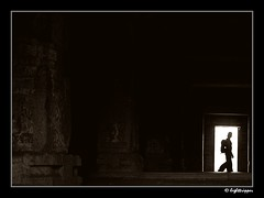 PassingBy (lighttripper) Tags: hampi rupa roopa abigfave superaplus aplusphoto bwshampi07
