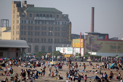 Shore Theater from Beach