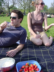 Picnic in Clissold Park