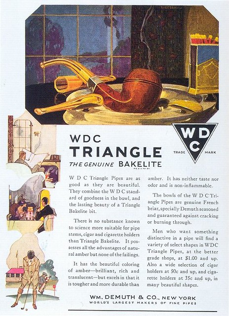 W. D. C. Triangle Pipes, 1919