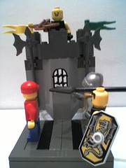joe and the knights (chickenboombox) Tags: lego figs vigs