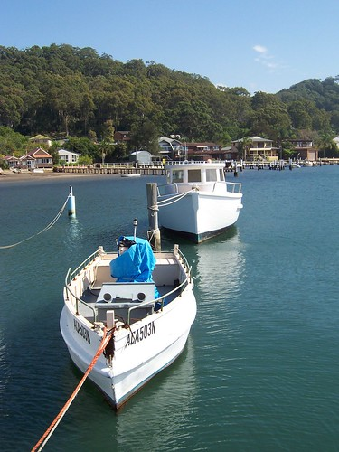 Two boats in Hardys Bay