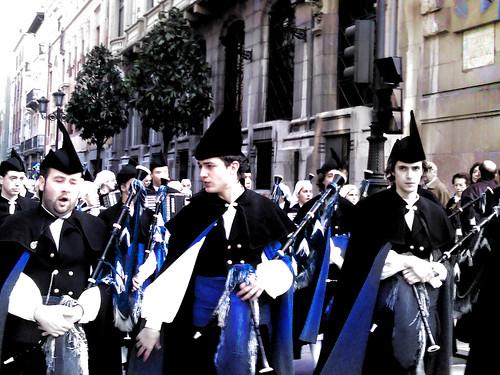 הצועדים בחגיגות לה מרסה בברצלונה