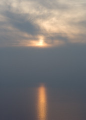 Evening Haze (One-Dimensional) Tags: sunset england geotagged nationalpark devon april hazy lynmouth 2007 exmoor countisbury geo:lat=51235697 geo:lon=3790112