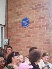 Photo of Laurel Aitken blue plaque