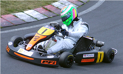mark litchfield 100cc karting