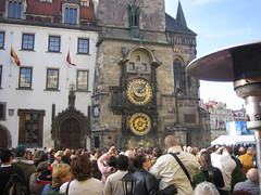 The clock in Prague