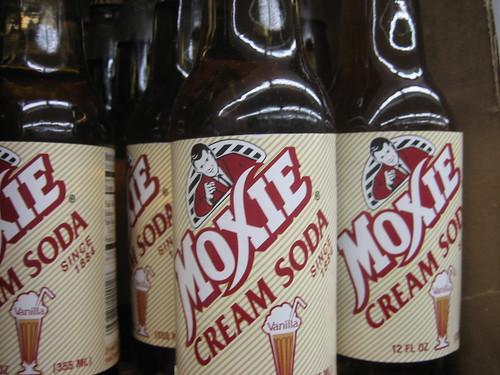 moxie cream soda