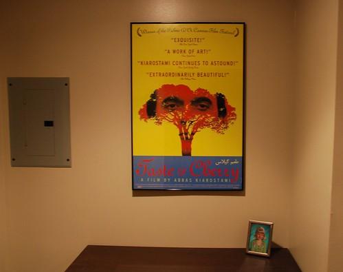 Movie Poster House Tour: Taste of Cherry