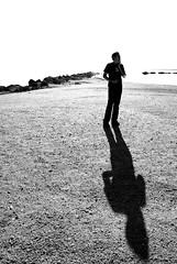 Salton Sea - Munkey (viks_patel) Tags: white facebook black38white