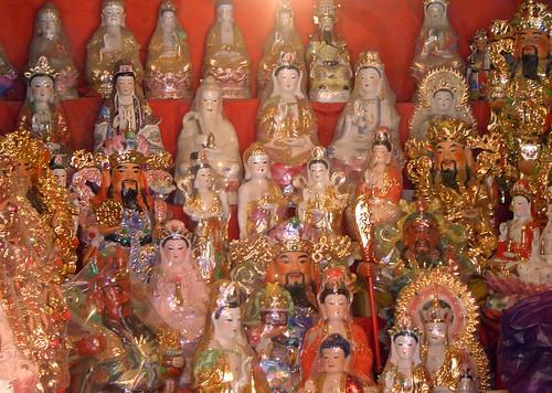 Buddha Street market