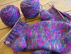 Apple Laine socks