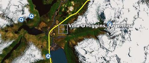 Villa O'Higgins in Argentina?