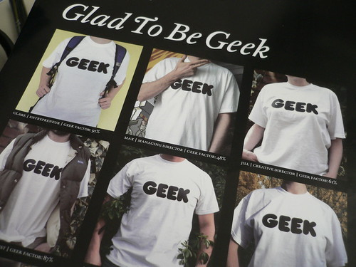 glad to be geek