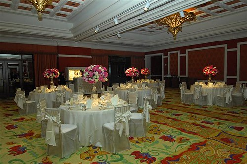 Wedding reception at Wynn Las Vegas Montrachet Room