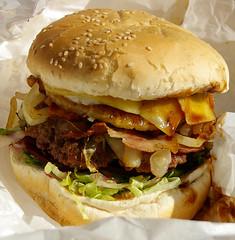 Metzis Tasty Takeaway Hamburger