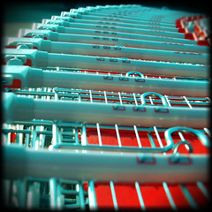 Caddie Ac (Metabisulfide) Tags: camera blue red color art colors mediumformat square rouge colours couleurs trolley bleu squareformat medium format couleur trolleys chariot caddies caddie chariots 10faves metabisulfide abigfave wowiekazowie jalalspagescoloursoflifealbum