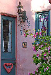The Fairytale Cottages of Carmel (linda yvonne) Tags: pink heart carmel quaint carmelbythesea bandb dutchdoor no7 dogfriendly supershot interestingness19 i500 mywinner abigfave abigfav flickrgold shieldofexcellence lindayvonne impressedbeauty ultimateshot ultimateshots ibeauty favoritegarden flickrdiamond fariytalecottage happylandinginn