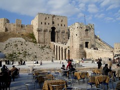 Aleppo Citadel And Cafe