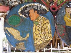 Calle Pedro Infante (marmotfotos) Tags: chicago circle eccentric sombrero pedroinfante yardshow